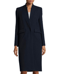 IRO Axter Long Wool Blend Coat Navy