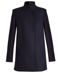 Proenza Schouler Stand Collar Double Breasted Coat