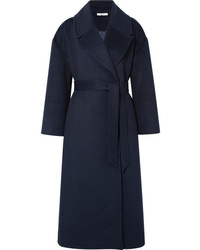 Ganni Tahoka Brushed Wool Blend Coat
