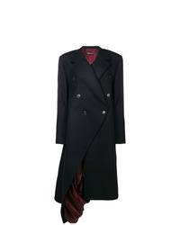 Y/Project Y Project Exposed Lining Asymmetric Coat
