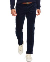 Navy Corduroy Dress Pants