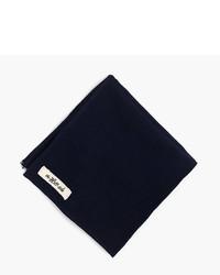 J.Crew The Hill Side Japanese Selvedge Panama Cloth Pocket Square