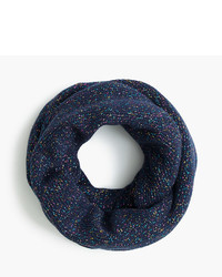 J.Crew Girls Speckled Cotton Infinity Scarf