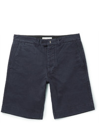 Officine Generale Fisherman Cotton Twill Shorts