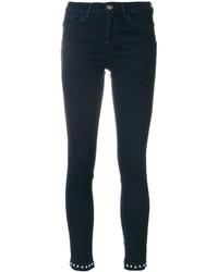 Studded hem skinny jeans medium 4947966