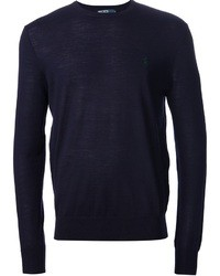 Navy crew neck sweater original 400860