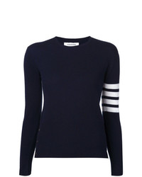 Thom Browne 4 Bar Stripe Jumper