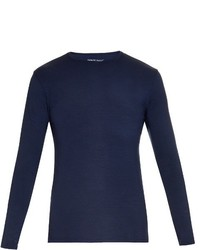 Derek Rose Basel Long Sleeved Jersey T Shirt