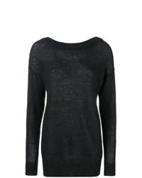 Erika Cavallini Boat Neck Sweater