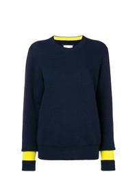 Maison Margiela Contrast Cuff Knitted Jumper