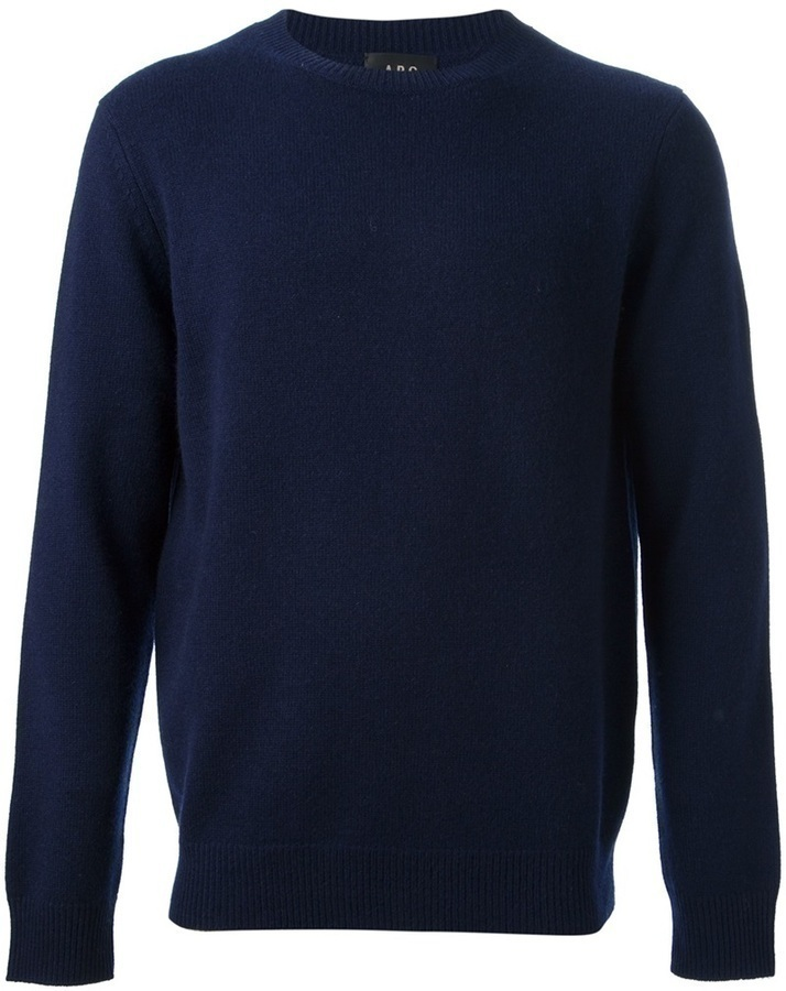 A.P.C. Crew Neck Sweater | Where to buy & how to wear