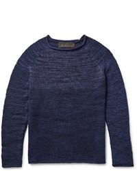 The Elder Statesman Marl Cashmere Sweater