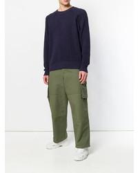 AMI Alexandre Mattiussi Raglan Sleeves Crewneck Sweater