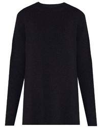 Raey Ry Long Line Fine Knit Cashmere Sweater
