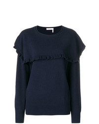 See by Chloe See By Chlo Ruffle Trim Sweater