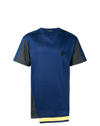 Alexander McQueen Contrast Panelled T Shirt