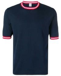 Eleventy Contrast Trim T Shirt