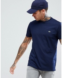 Lacoste Logo T Shirt In Navy
