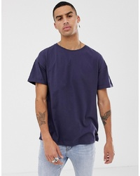 Sixth June Oversized T Shirt In Dark Blue