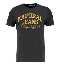 Kaporal Print T Shirt Carbo