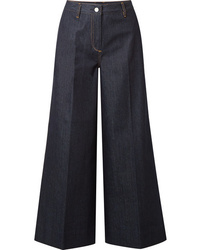 Elizabeth and James Ace Cropped High Rise Wide Leg Jeans