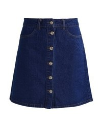 Only Onlfarrah Denim Skirt Medium Blue Denim