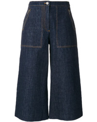 Kenzo Cropped Denim Culottes