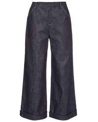 Derek Lam Wide Leg Denim Culottes