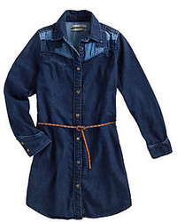 Navy Denim Dress