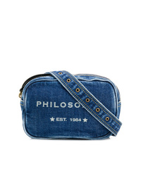 Philosophy di Lorenzo Serafini Logo Denim Belt Bag
