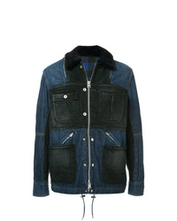 Navy Denim Field Jacket
