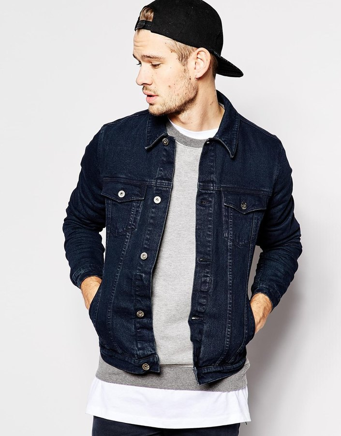 Asos Brand Denim Jacket In Skinny Fit | Where to buy & how to wear