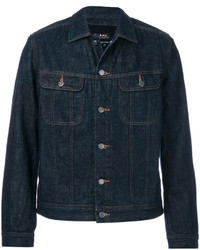 A.P.C. Button Up Denim Jacket