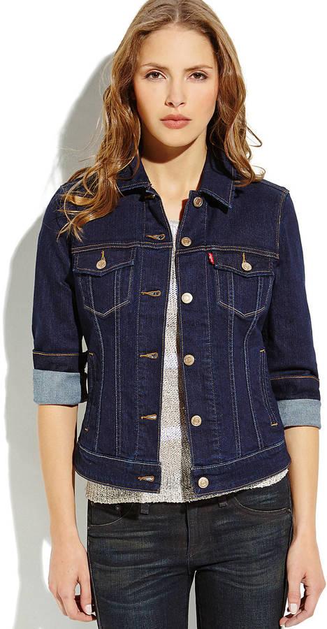 Levi's Dark Wash Classic Denim Jacket | Where to buy & how to wear