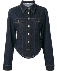 Stella McCartney Fitted Denim Jacket