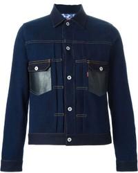 Comme des Garcons Junya Watanabe Comme Des Garons Man X Levis Denim Jacket