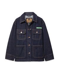 Marc Jacobs Logo Appliqud Denim Jacket