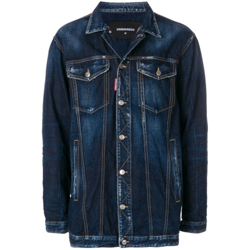 DSQUARED2 Oversized Denim Jacket