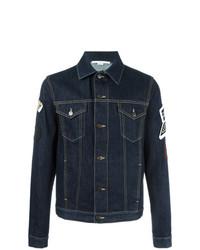 Stella McCartney Raw Denim Jacket Blue