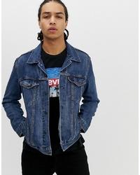 Levi's The Denim Trucker Jacket In Mayze Mid Wash