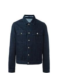 Kenzo Tiger Denim Jacket Blue