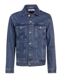 Tommy Hilfiger Varsity Trucker Denim Jacket Denim