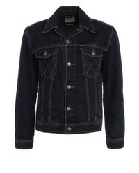 Western denim jacket blue black medium 3835204