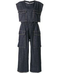 MM6 MAISON MARGIELA Cargo Pocket Denim Jumpsuit