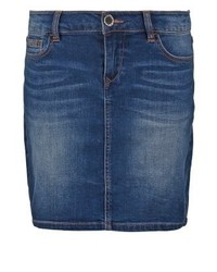 Denim skirt jean stone medium 3935733