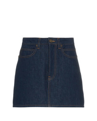 Calvin Klein Jeans Est. 1978 Logo Back Denim Mini Skirt Unavailable
