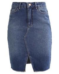 Padre pencil denim skirt mid blue medium 5315856