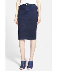 J Brand Willa High Rise Pencil Skirt