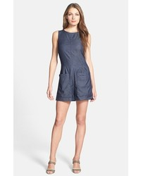 Theory Hadrine D Denim Romper