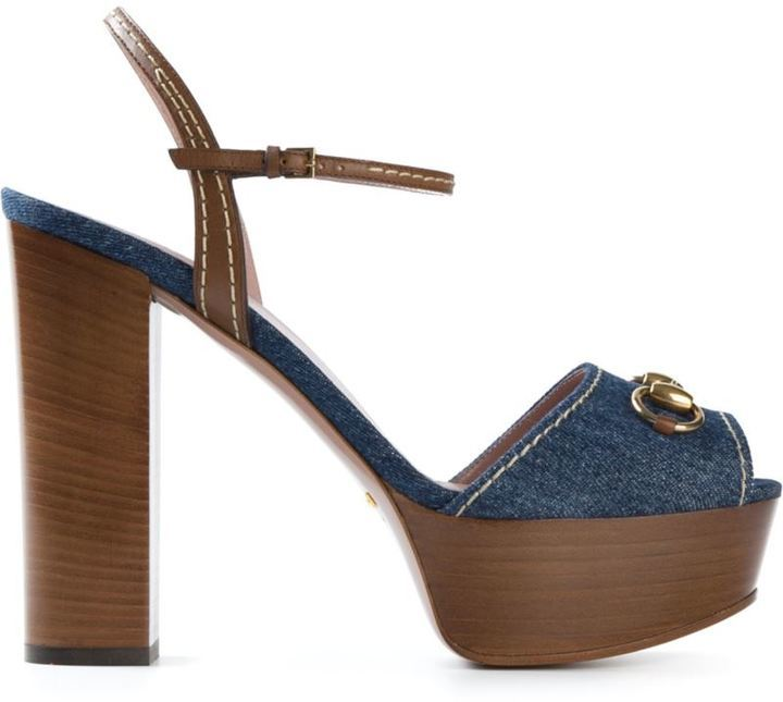 3d2610ffc6fdcc ... Gucci Denim Platform Sandals
